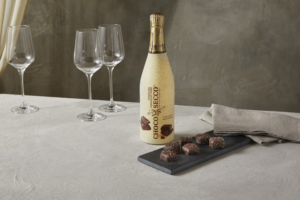 ChocoSecco Sparkling Chocolate Wine