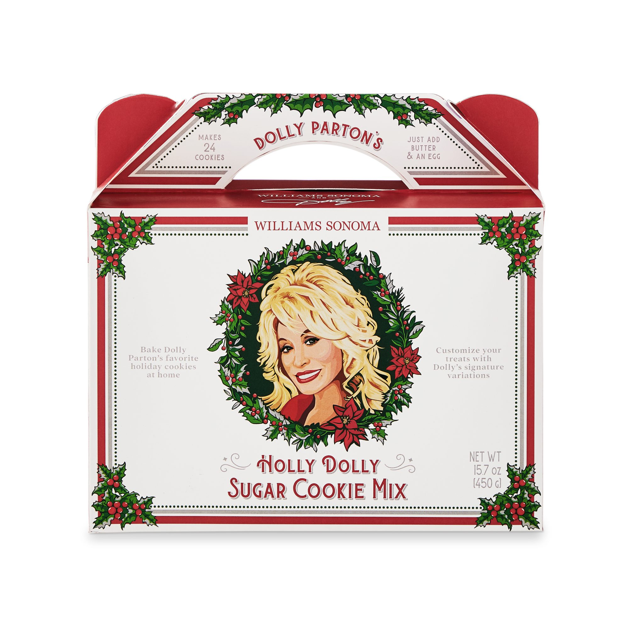Dolly Parton's Holly Dolly Sugar Cookie Mix