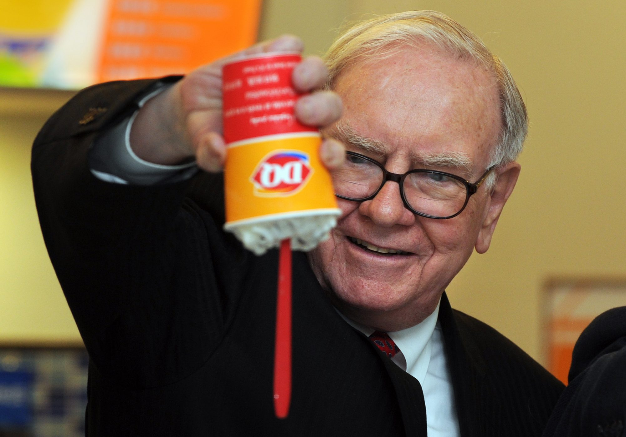 US billionaire investor Warren Buffett f
