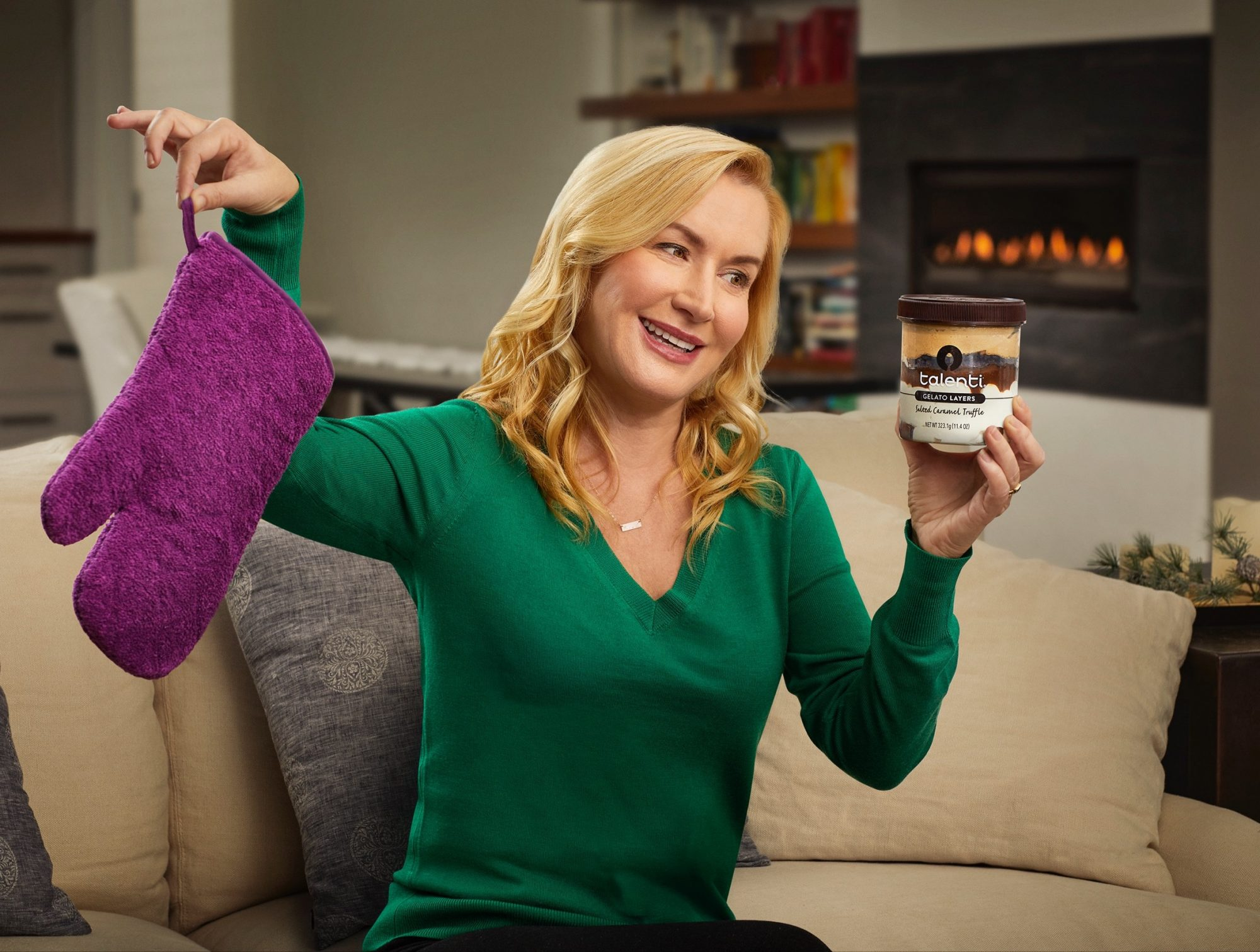 angela is swapping her meh gift for a pint of talenti