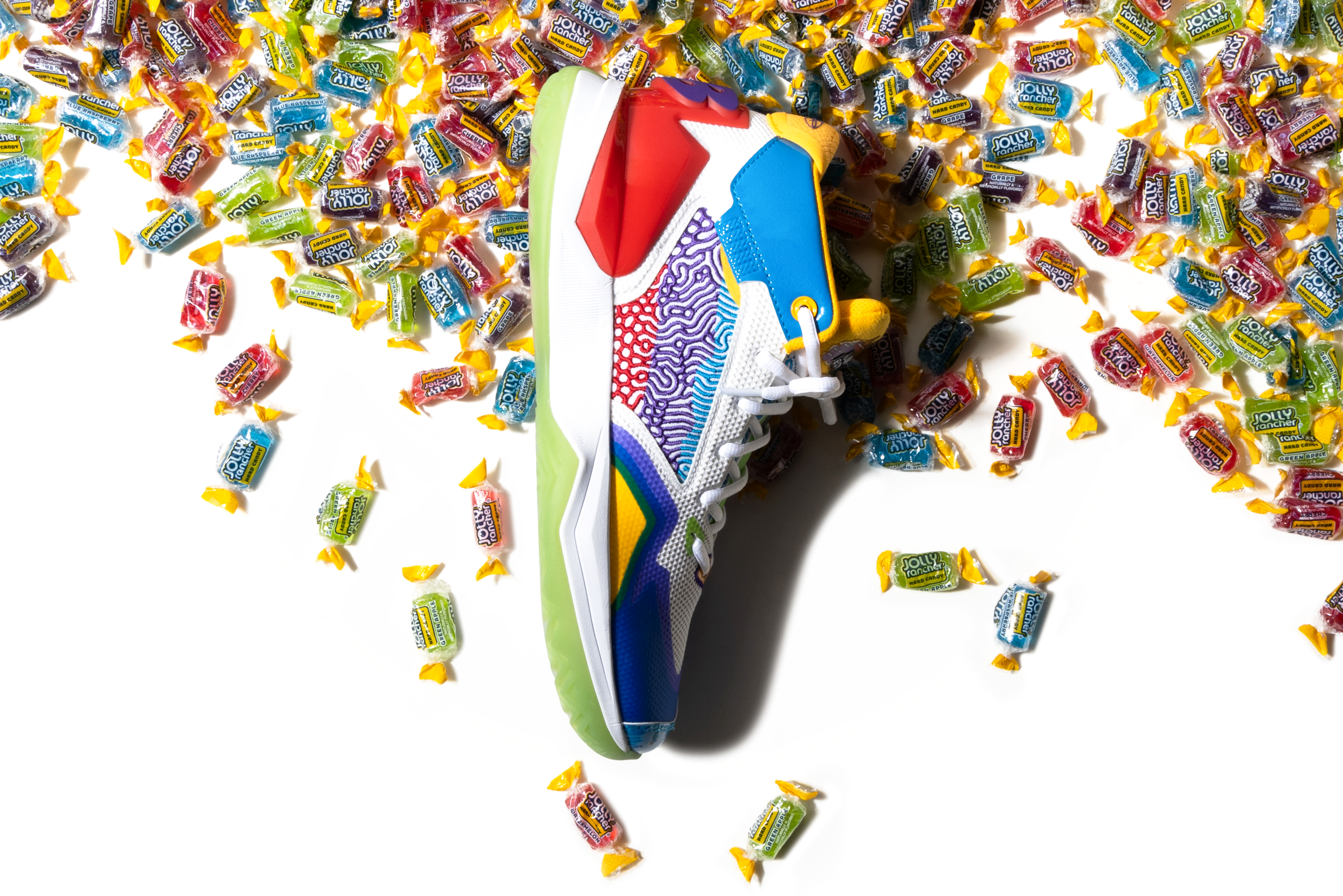 New Balance Jolly Rancher KAWHI signature shoes