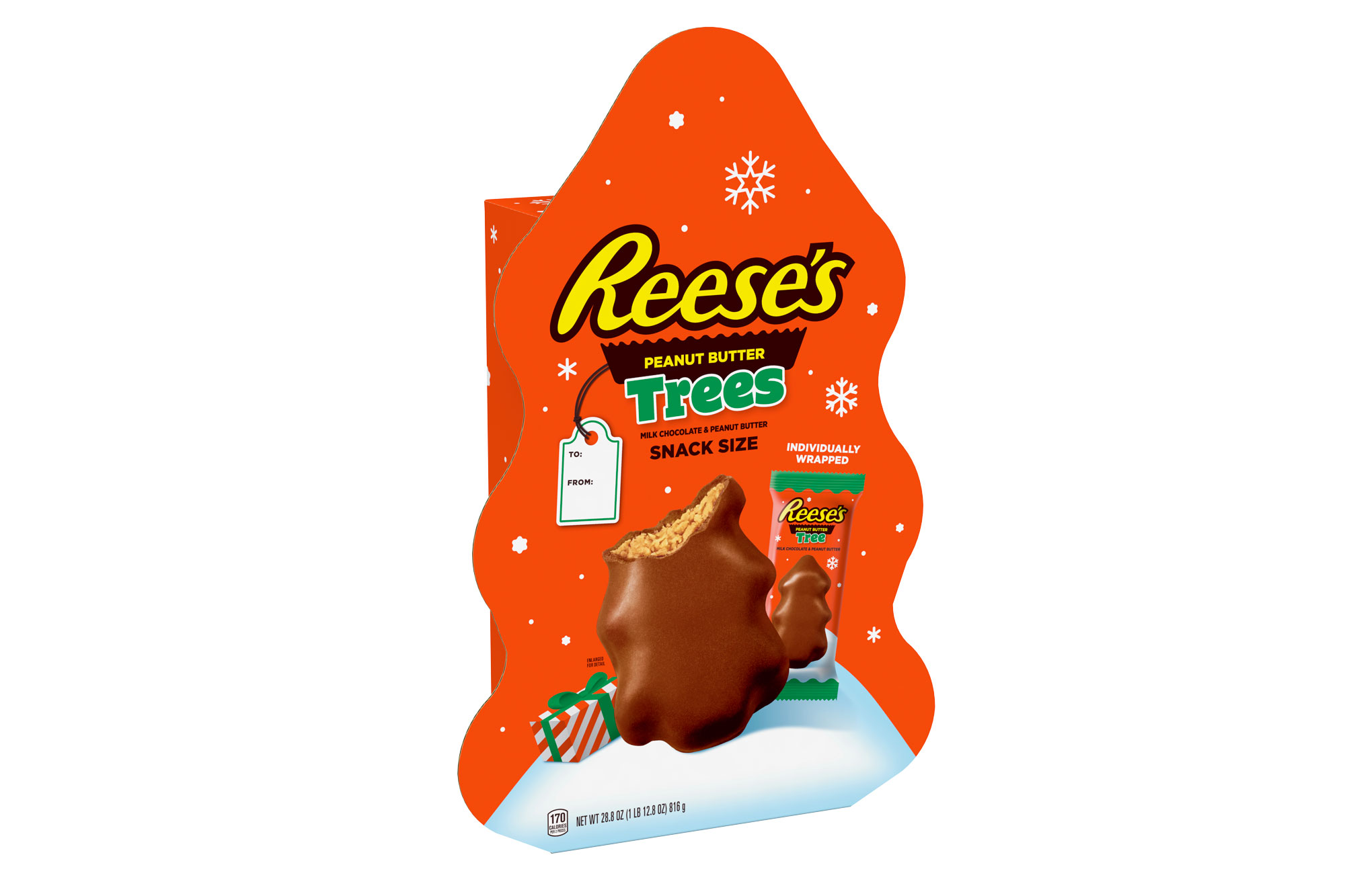Reese's Snack Size Trees Giant Gift Box