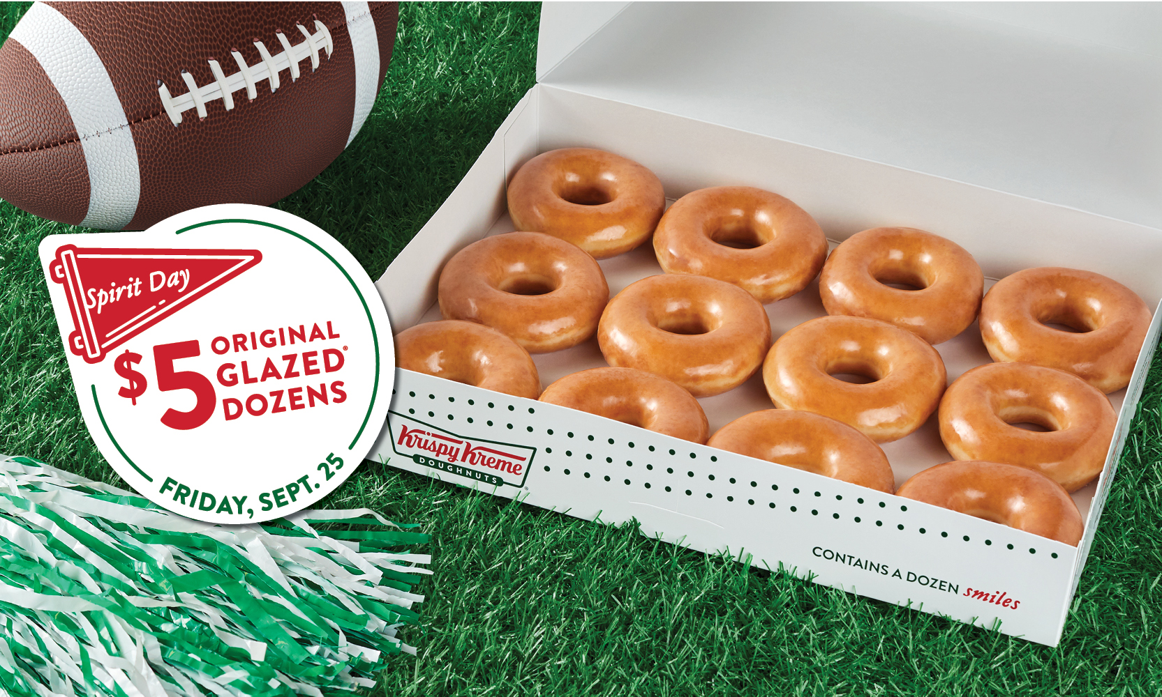 Sports Spirit Day $5 Dozen