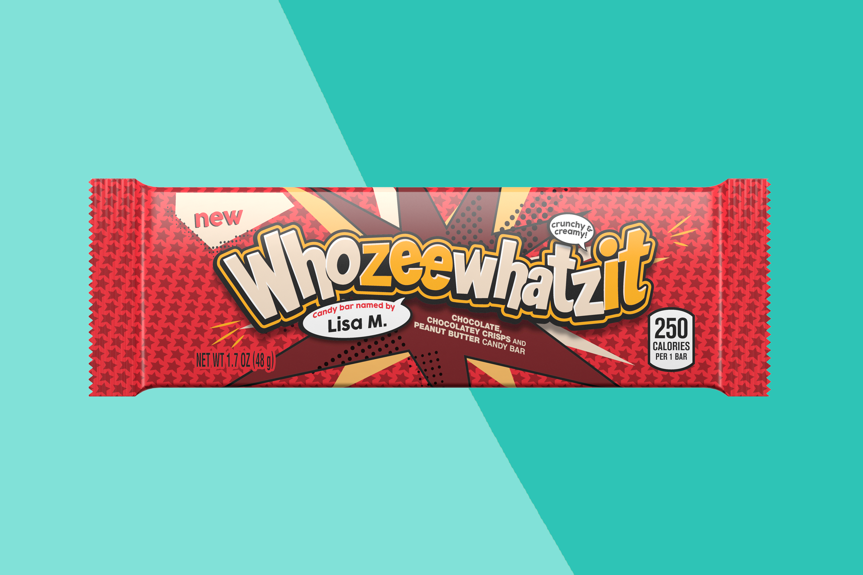 hershey's new whozeewhatzit bar