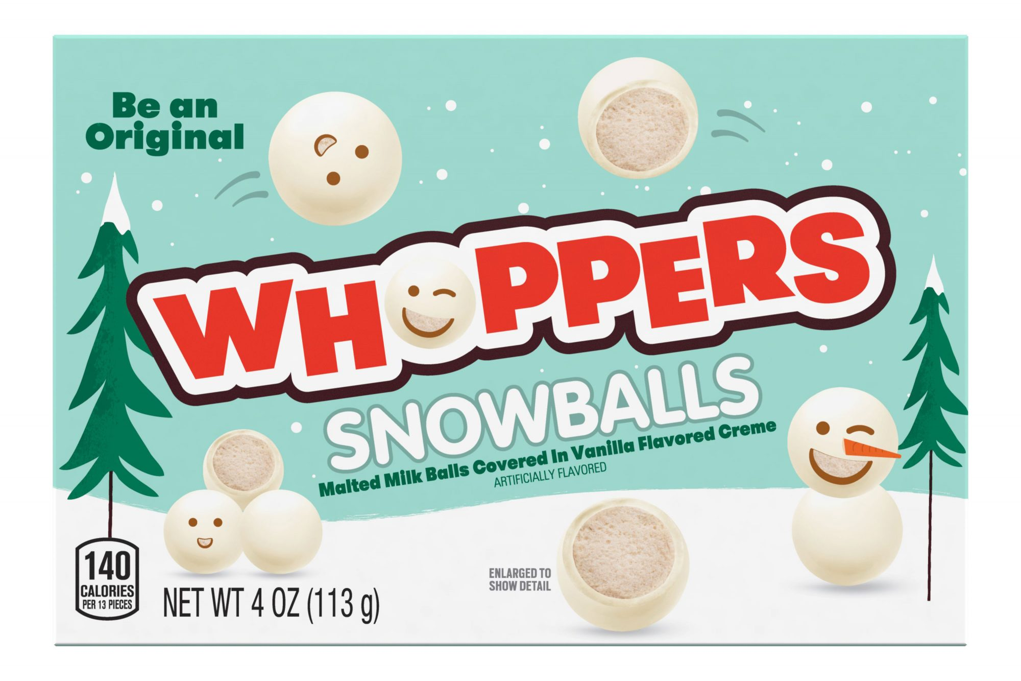 Whoppers Snowballs Theater Box