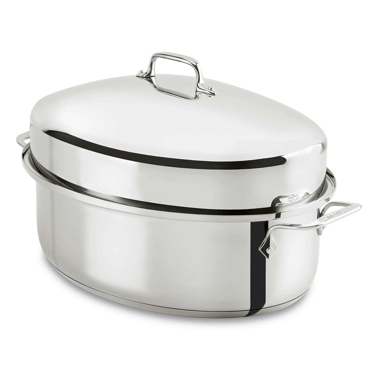 10-Quart Covered Oval Roaster & Lid ALL-CLAD