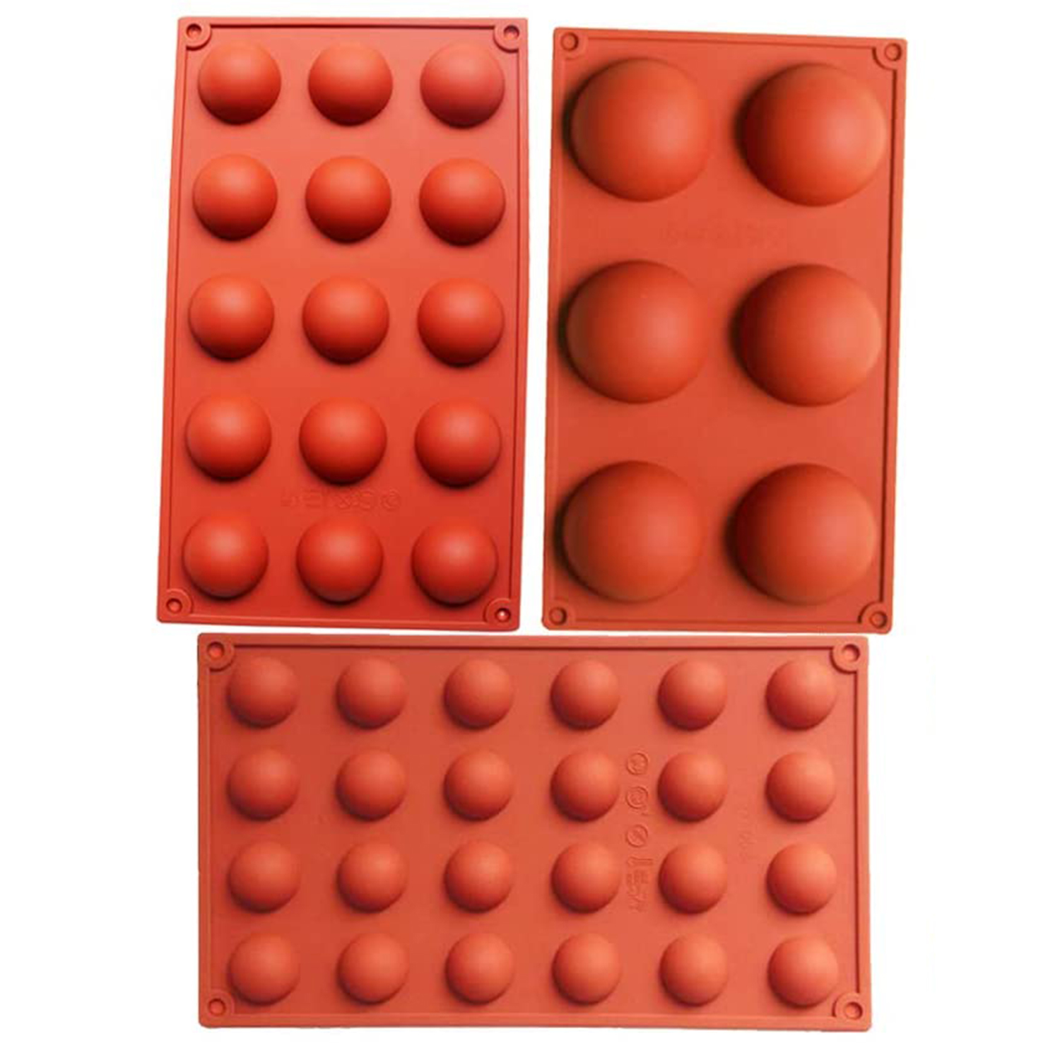 Holes Silicone Mold For Chocolate