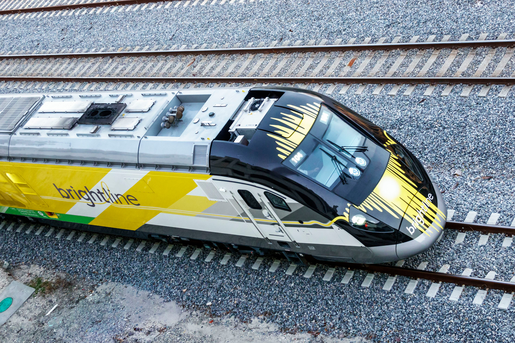 Brightline passenger train