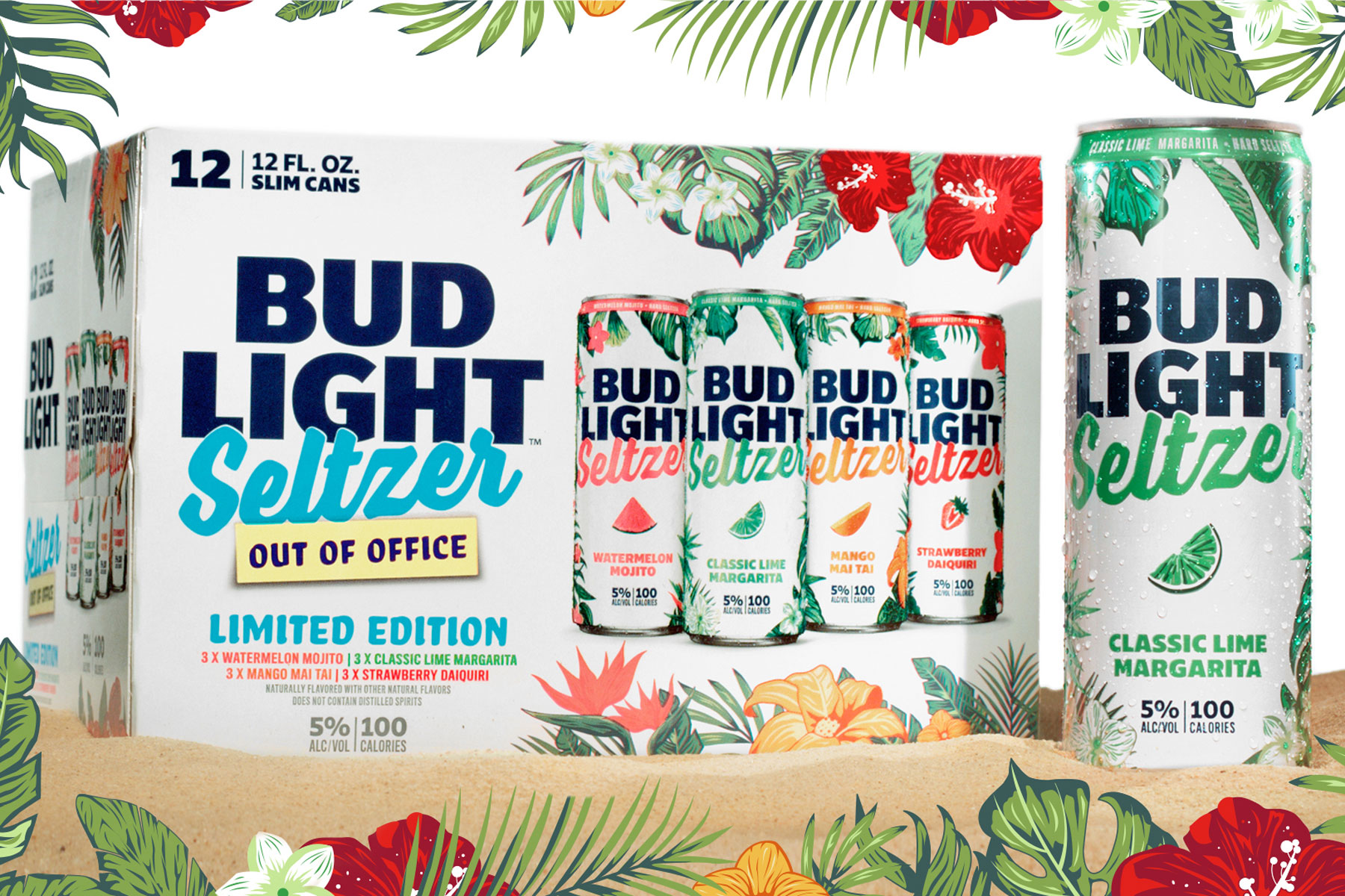 Bud Light Seltzer out of office flavors