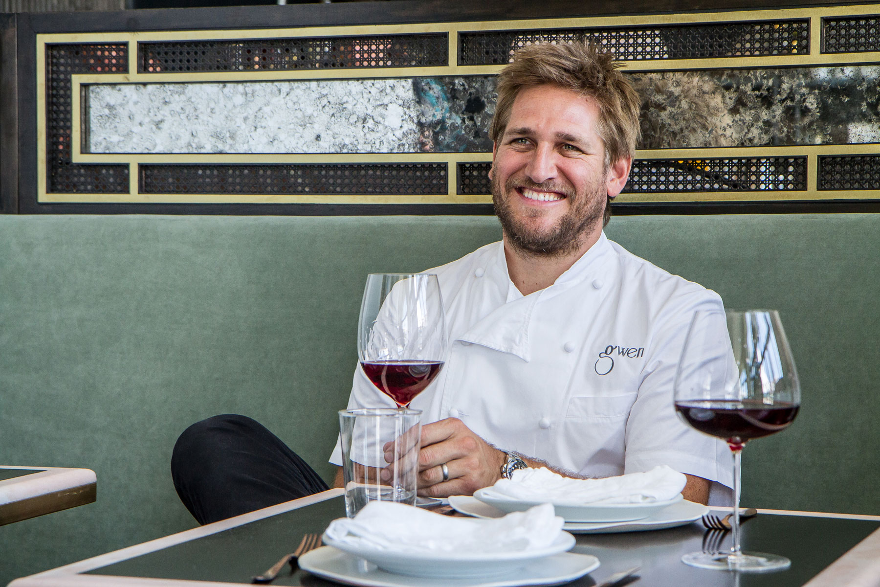 Curtis Stone at Gwen