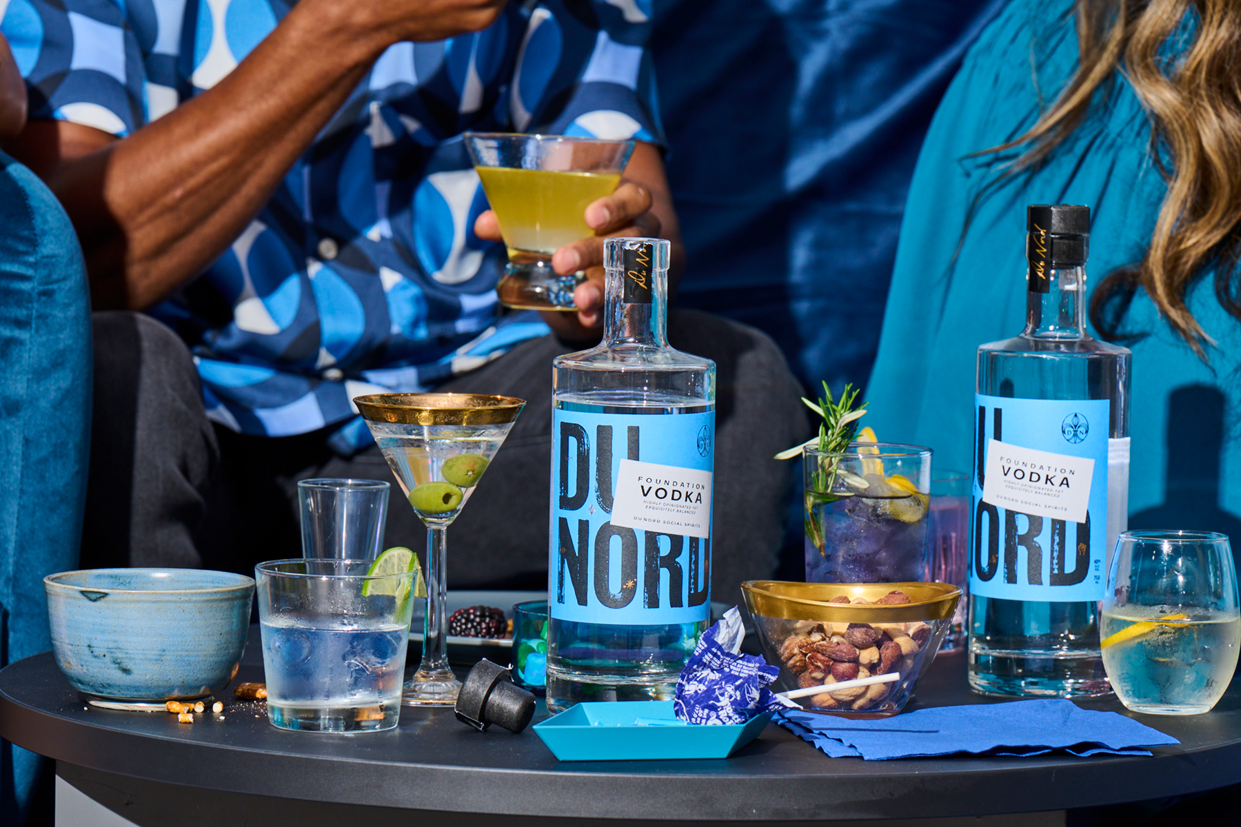 Cocktails made with Dunord vodka