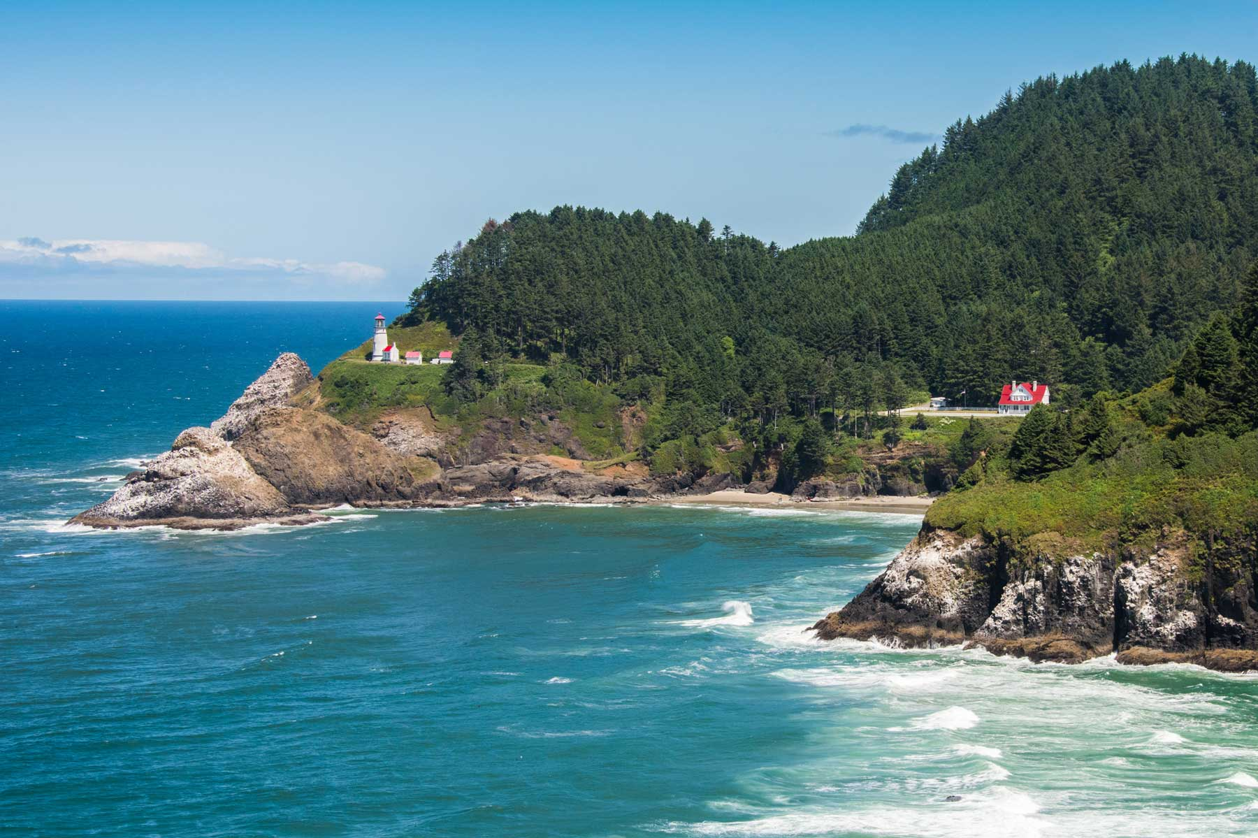 Heceta Head Light And Keeper's House in Florence, Oregon