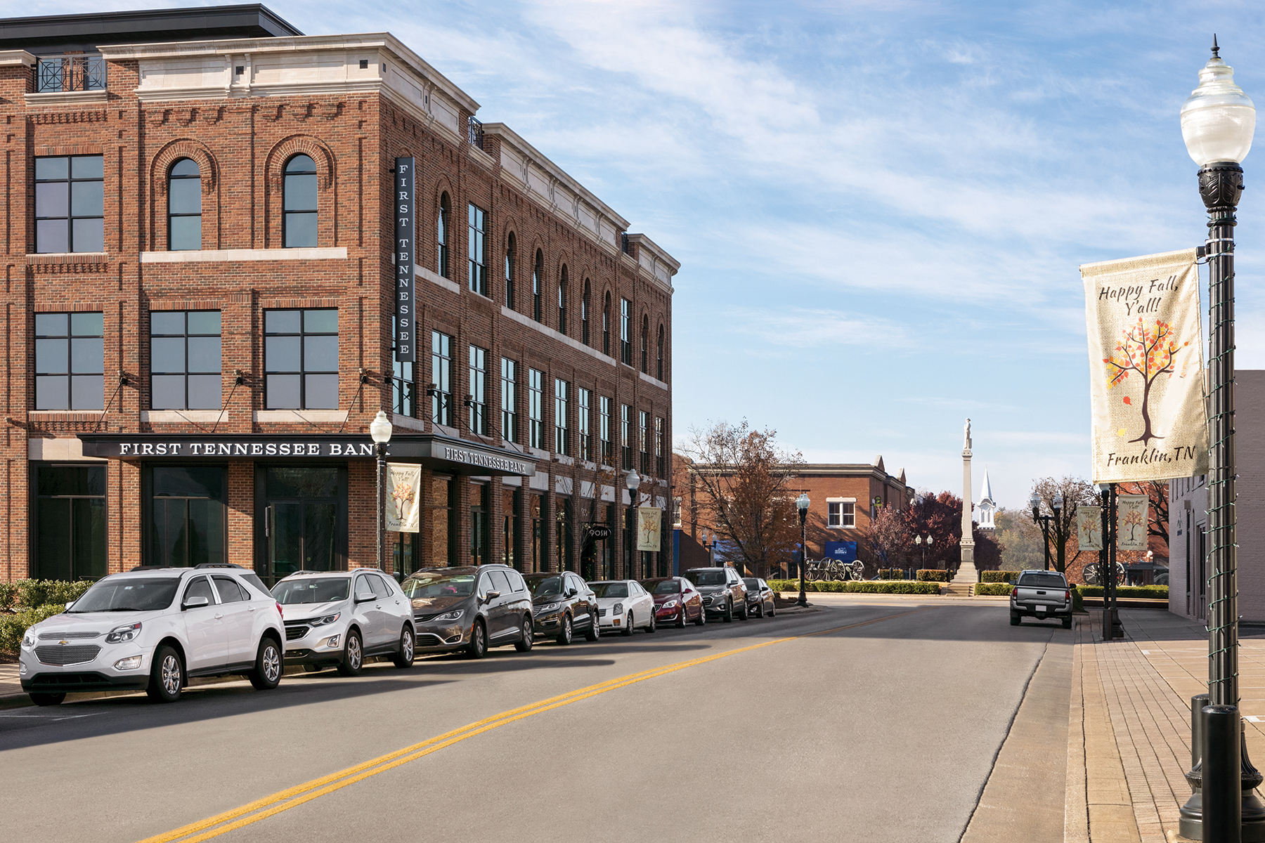 View of Franklin, Tennessee