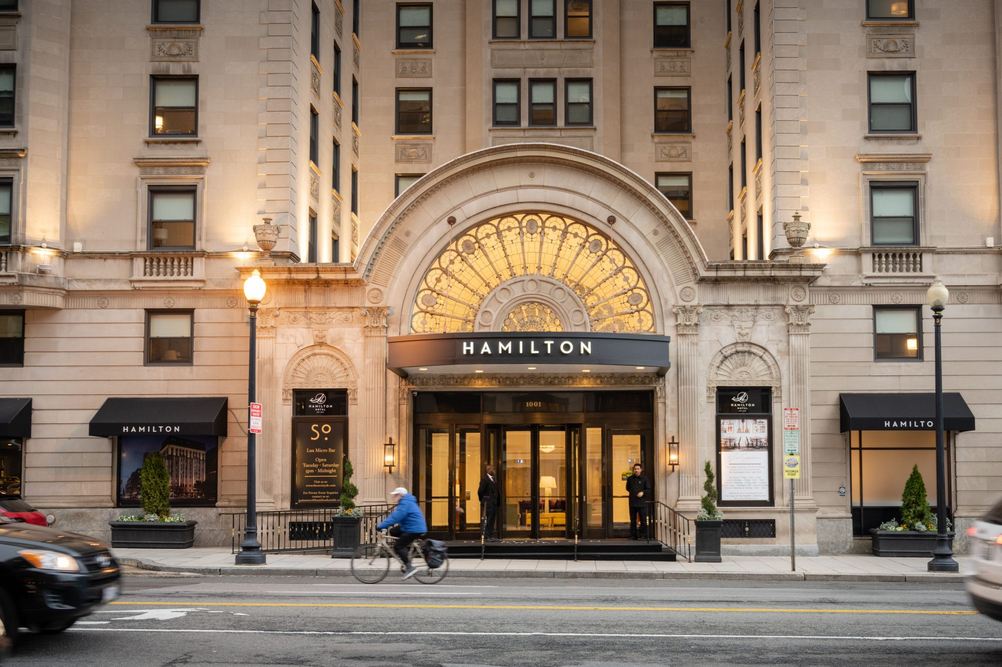 The Hamilton Hotel in Washington D.C.