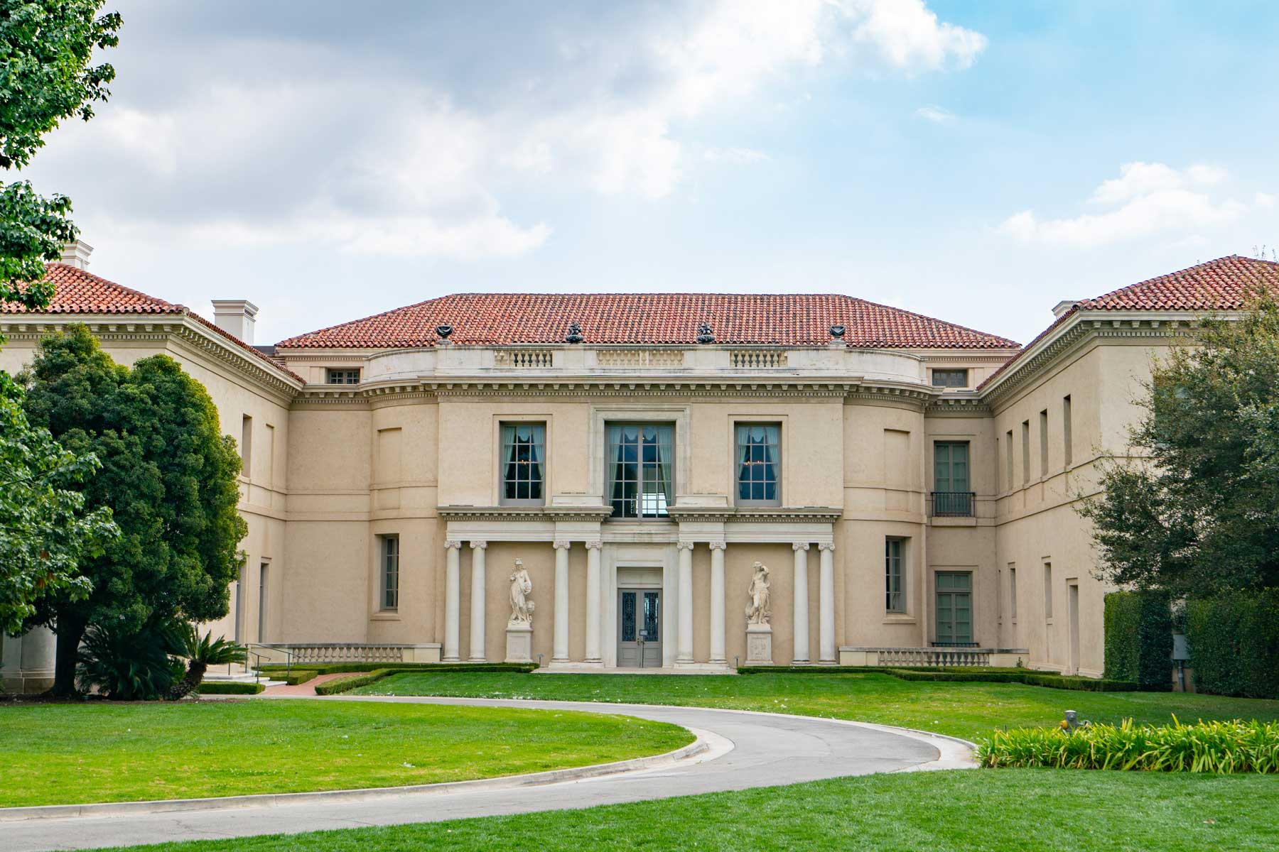 General views of The Huntington Library, Art Museum, and Botanical Gardens on March 08, 2021 in San Marino, California.