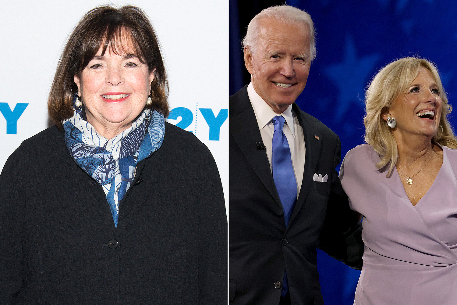 Ina Garten, Joe and Jill Biden