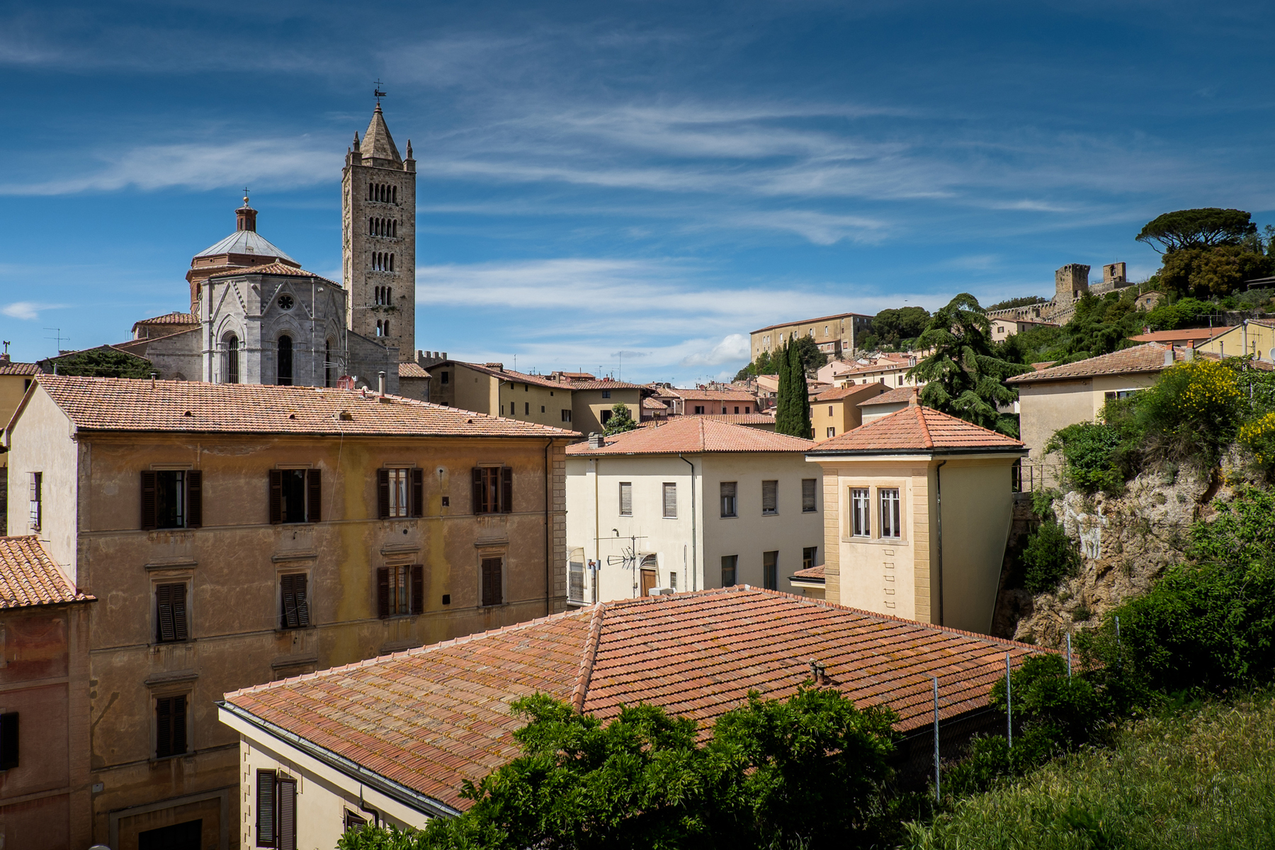 Massa Marittima, Tuscany, medieval town in Italy, the Cathedral