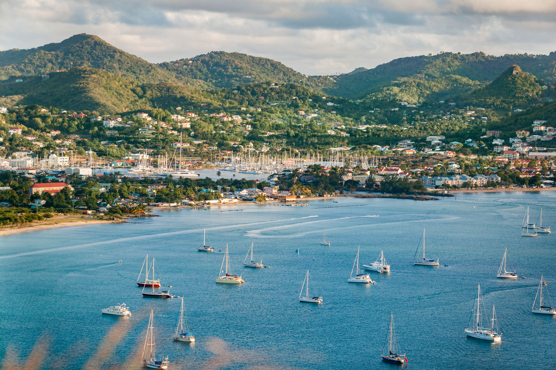 St.Lucia, windward Islands, West Indies