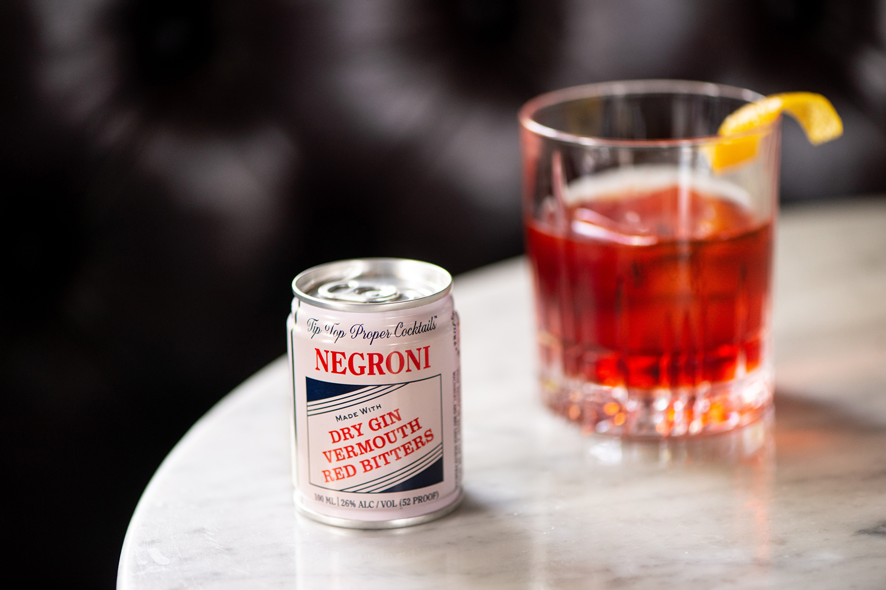 A Tip Top Negroni