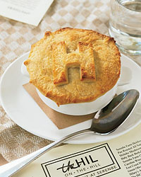 The Hil chicken pot pie