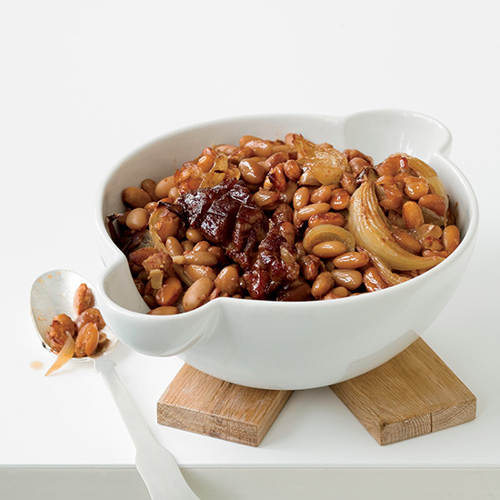 Maple-Glazed Beans