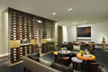 The wine lounge at the Caudalie Spa in the Plaza Hotel