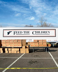 Feed The Children.
