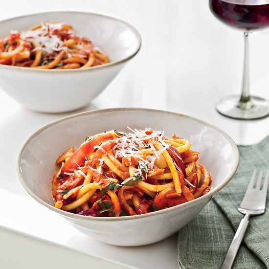 Mario Batali's Bucatini all'Amatriciana