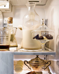 a curated refrigerator.
