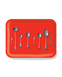 Tray by U.K. designer Michael Angove.