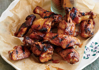 Spicy Apricot Wings