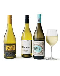 Four Vines, Bodini and DMZ Chardonnays