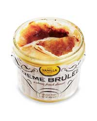 Creme Brulee in a Jar