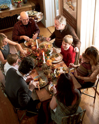 Michael Symon Family Thanksgiving