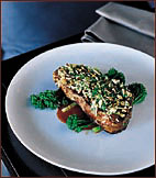 Grilled Sirloin with Shallot Soy Sauce