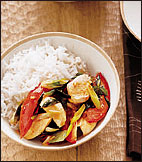 Thai Basil and Chile Chicken