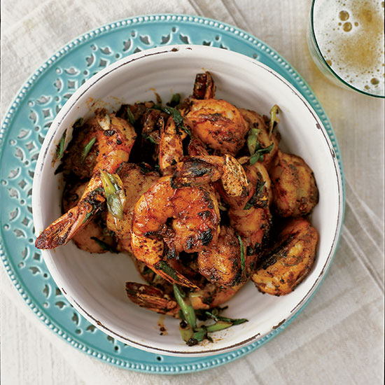 Peel-and-Eat Shrimp with Barbecue Spices