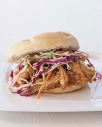 Pulled-Chicken Sandwich