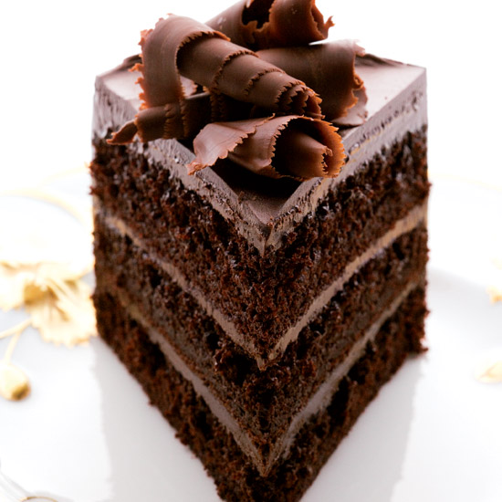 Fudgy Chocolate Cake