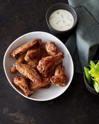 Pepper and Salt Chicken Wings