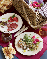 Curated Picnic Baskets