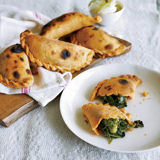 Spinach-and-Green-Pea Empanadas