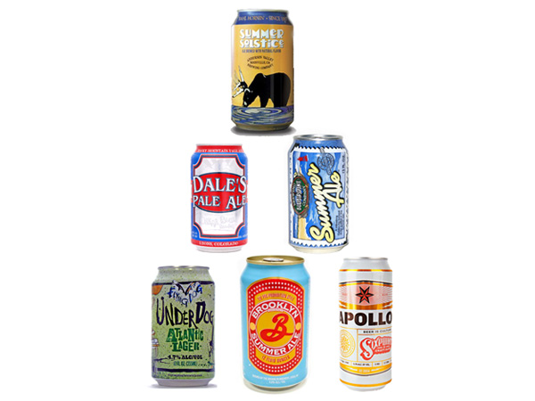 Craft Canned Beers