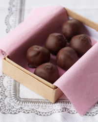Jacques Pepin's Coffee Rum Truffettes