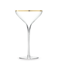 Savoy Champagne saucer by LSA