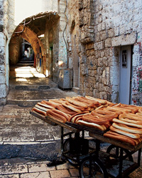 A Bakery in the Old City.