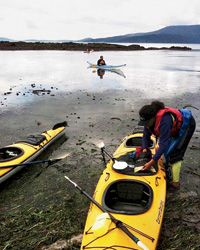 Kayaking on Lummi Island