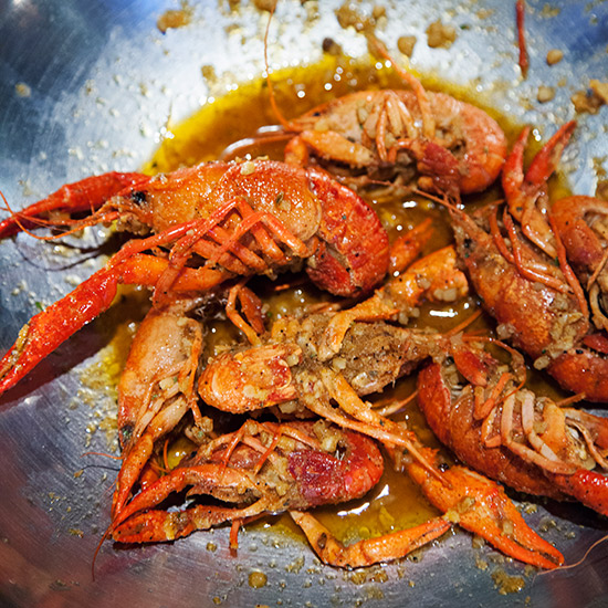 Houston in 10 Plates: Cajun Spiced Crawfish at Crawfish & Noodles