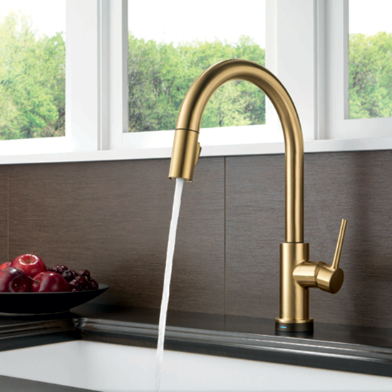 High-Design Faucet: Touch Technology