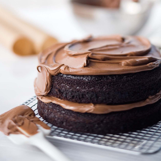 Double-Chocolate Layer Cake